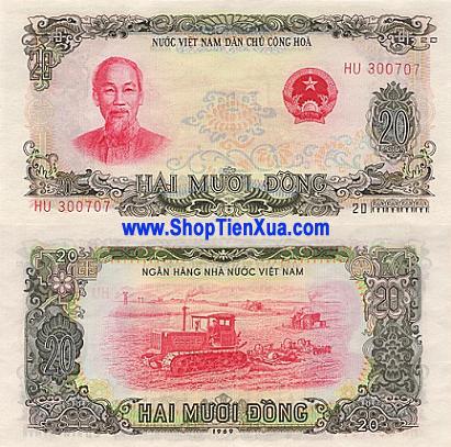 MS36 - 20 đồng năm 1969 .